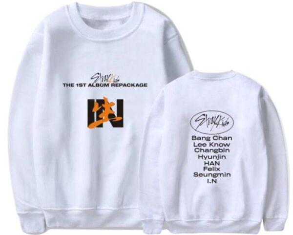 stray kids in life sweatshirt