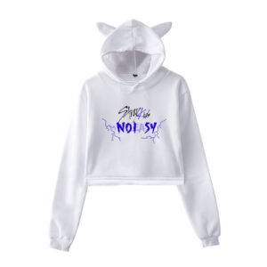 Stray Kids No Easy Cropped Hoodie #4